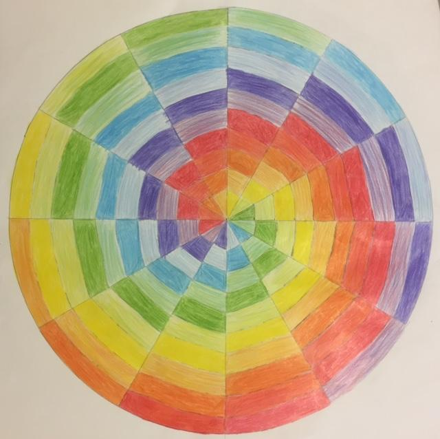 Kaylee E Radial Color Wheel