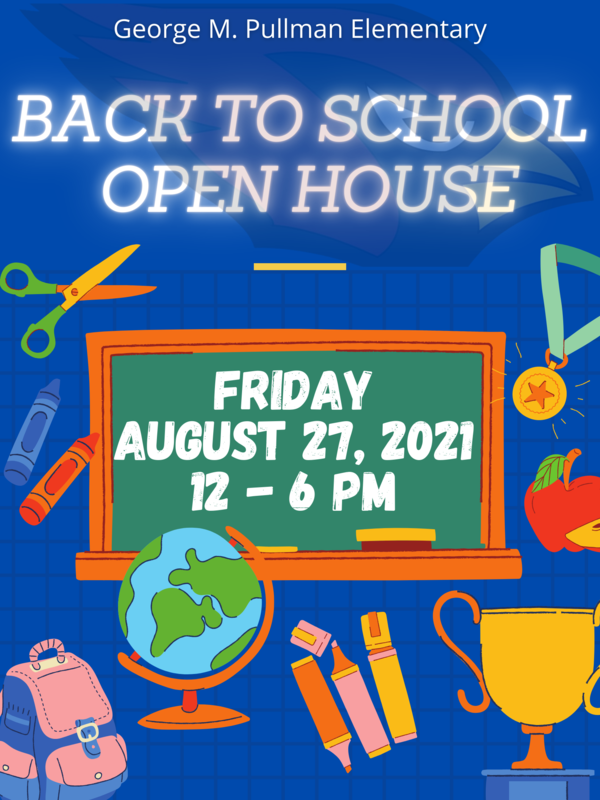 open house August 27 2021