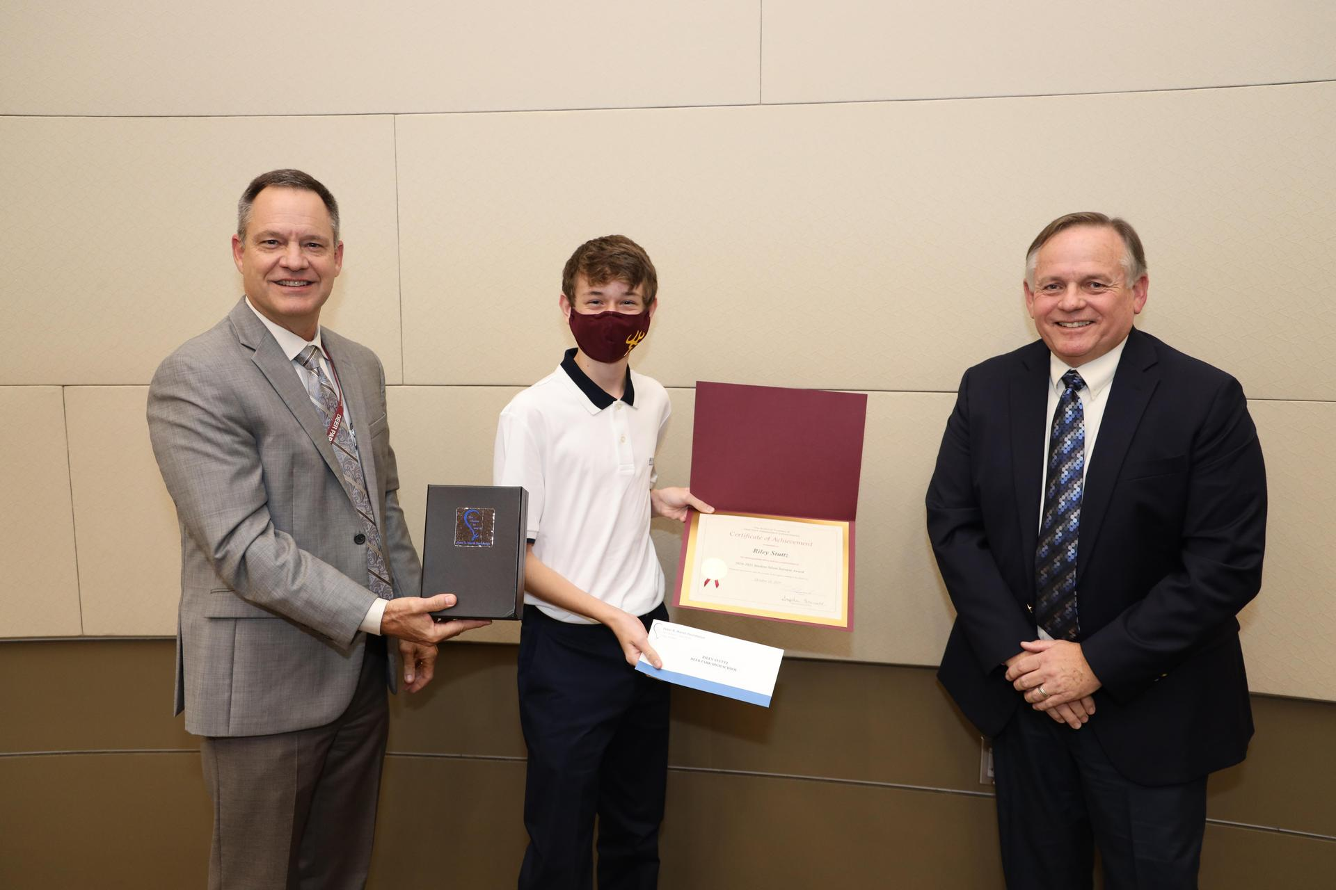 Student Silent Servant Award winner