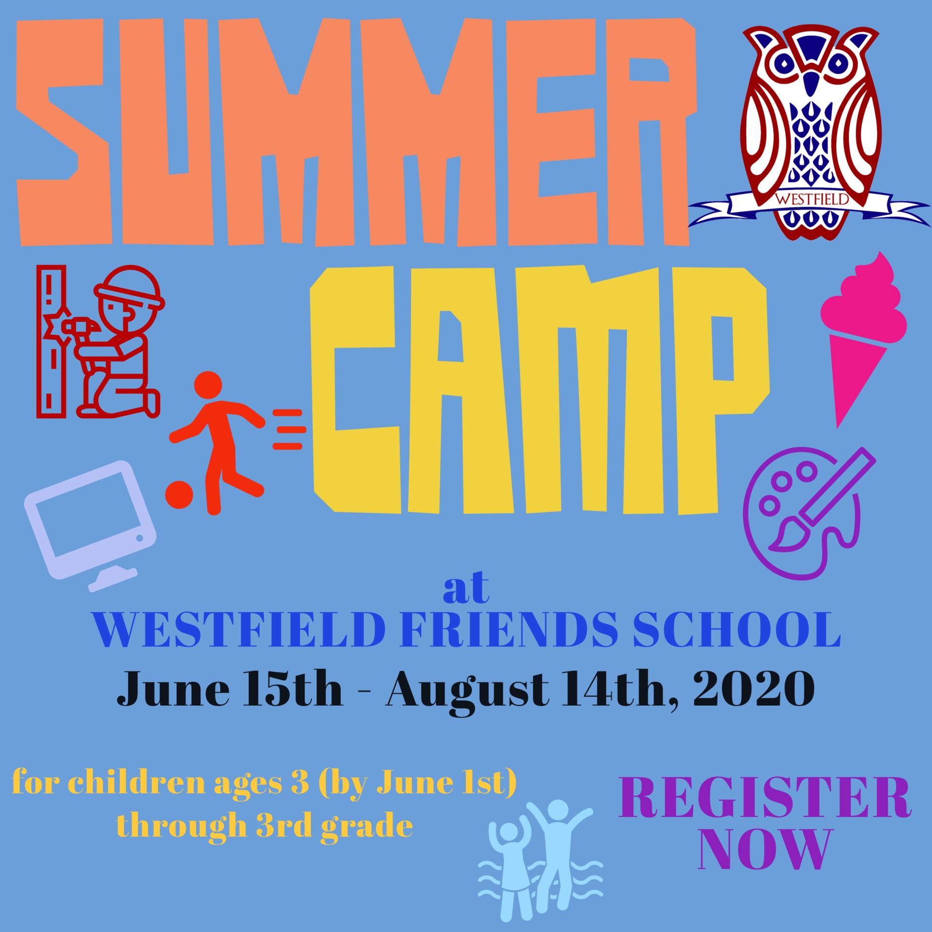 Summer Camp 2020 title logo