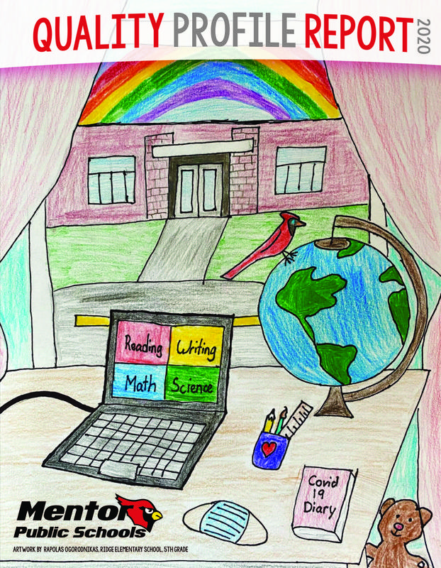 student artwork used as cover of QP report
