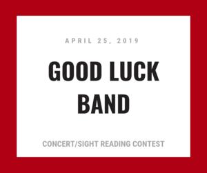 good luck band logo