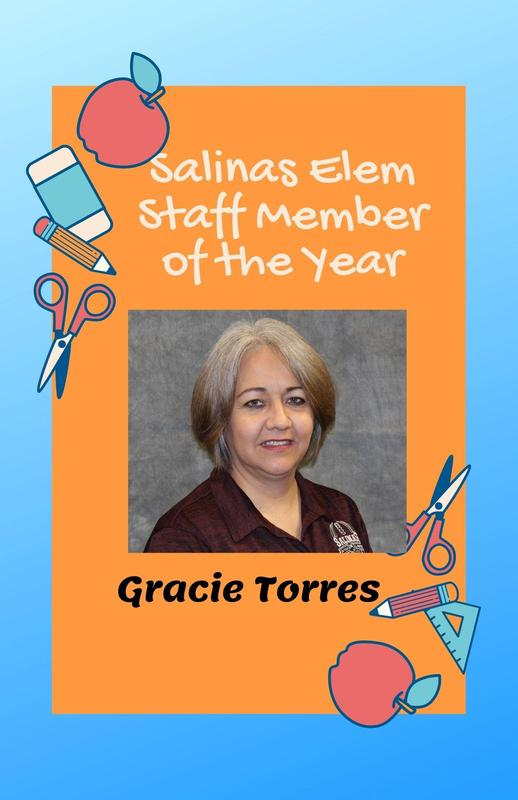 Salinas Fine Arts Academy Staff Member of the Year Featured Photo