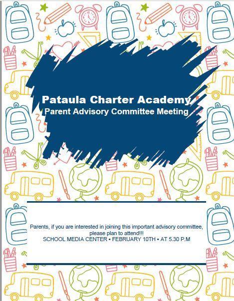 Parent Advisory Committee Meeting Feb. 10