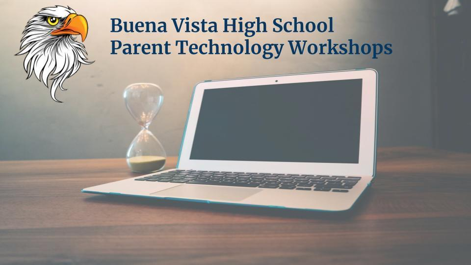 Parent Workshop Resources
