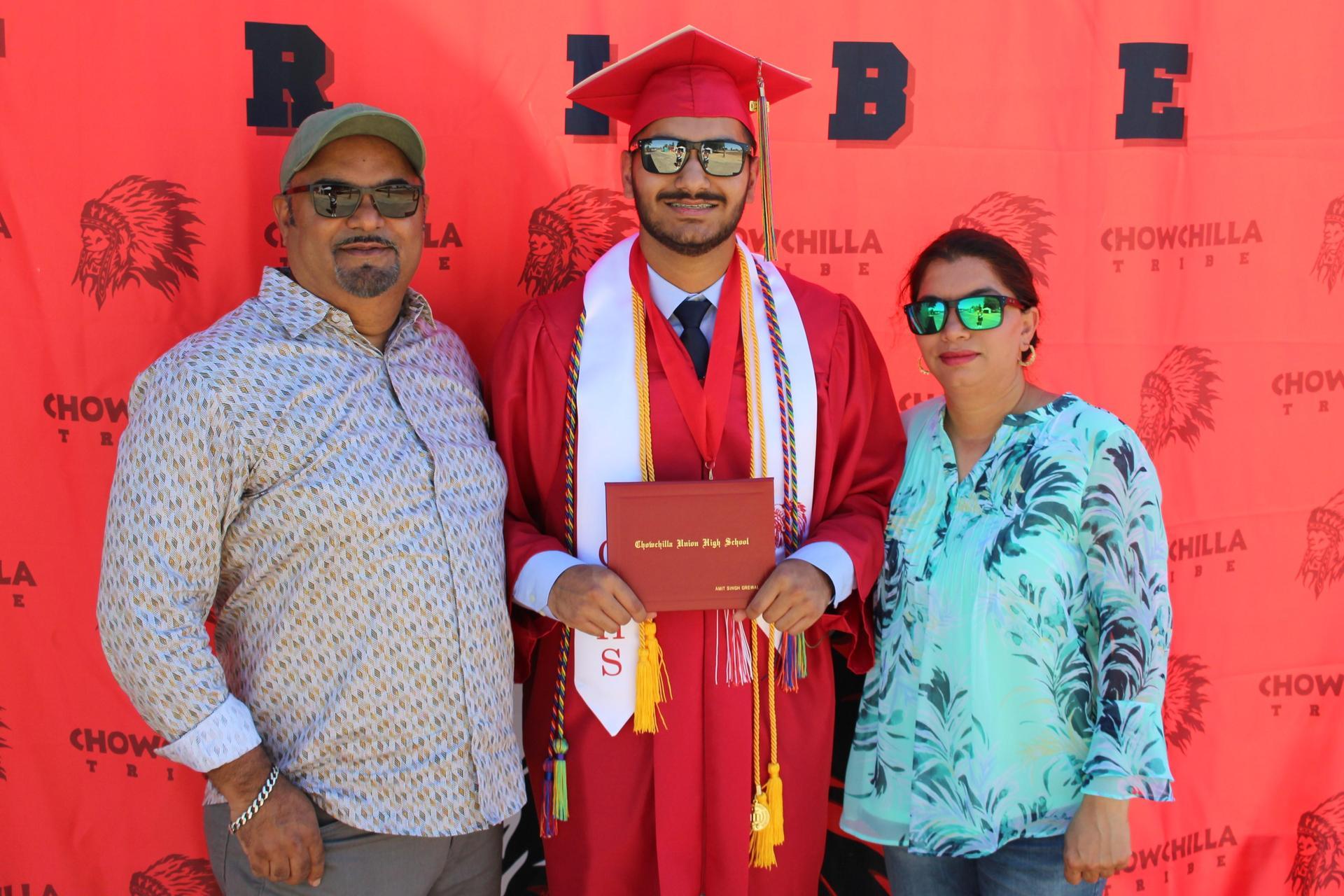 Amit Grewal and family