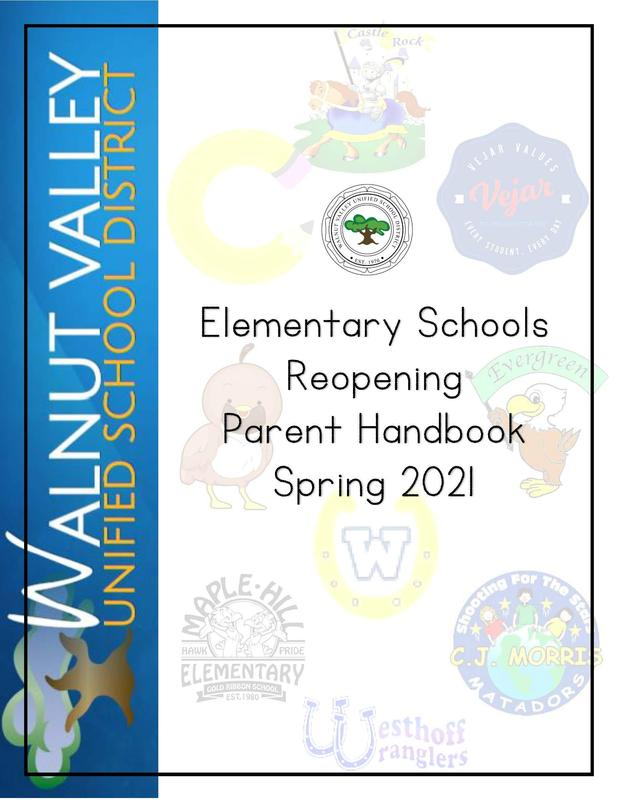 Reopening Parent Handbook Featured Photo