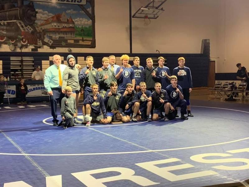 2020 Wrestling District Champs Featured Photo
