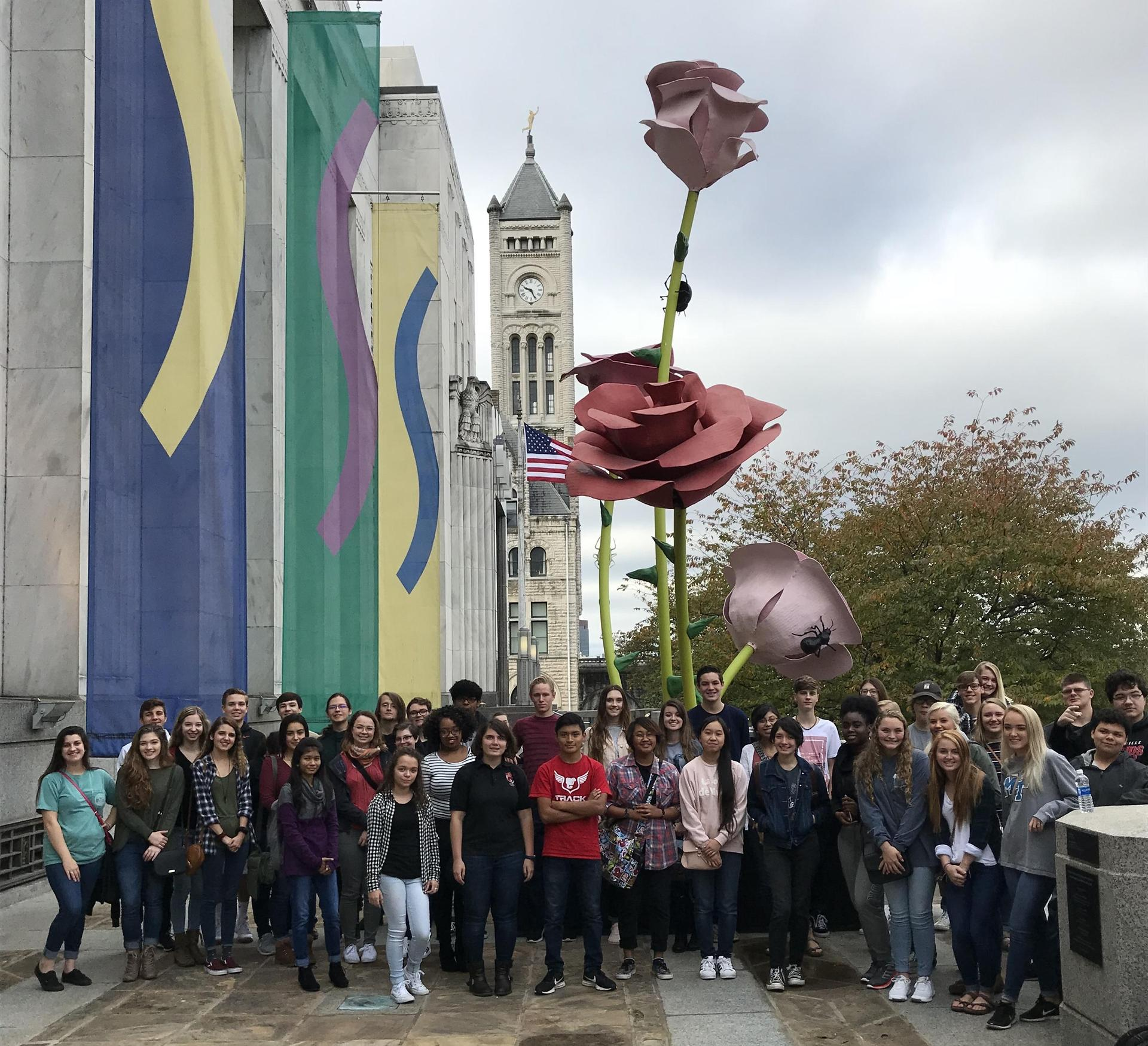 SCHS US History and Art Students visited Frist Art Center and Fisk University Galleries, Nov 2017