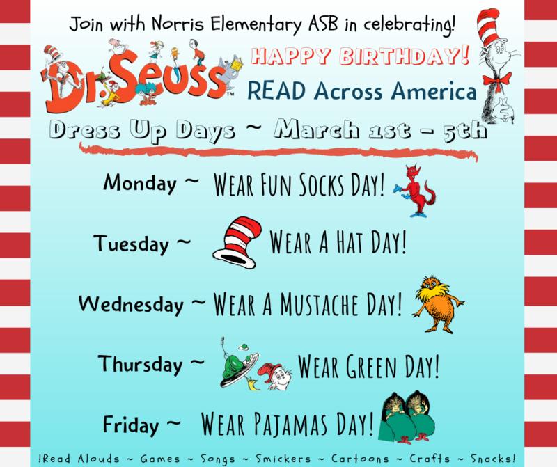 Dr. Seuss Dress Up Week