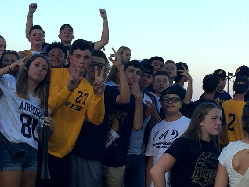 Student Section Football Game