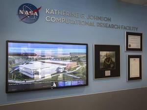 photo of NASA building named after Katherine Johnson