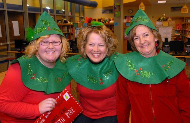Eastside staff Christmas photo