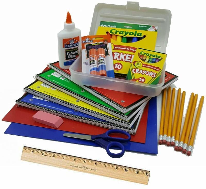 School supply list - Elementary Featured Photo