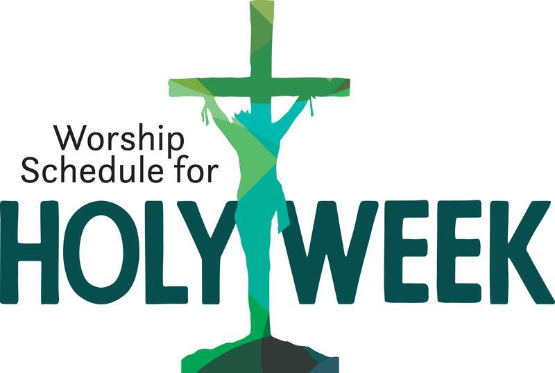 Holy Week Schedule Thumbnail Image