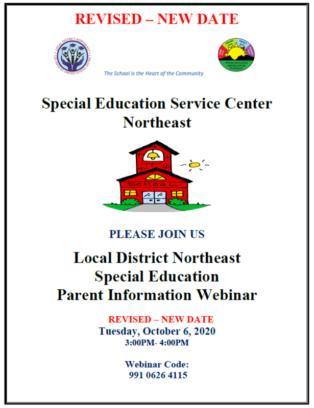 Special Education Meeting Parent Information Webinar Featured Photo