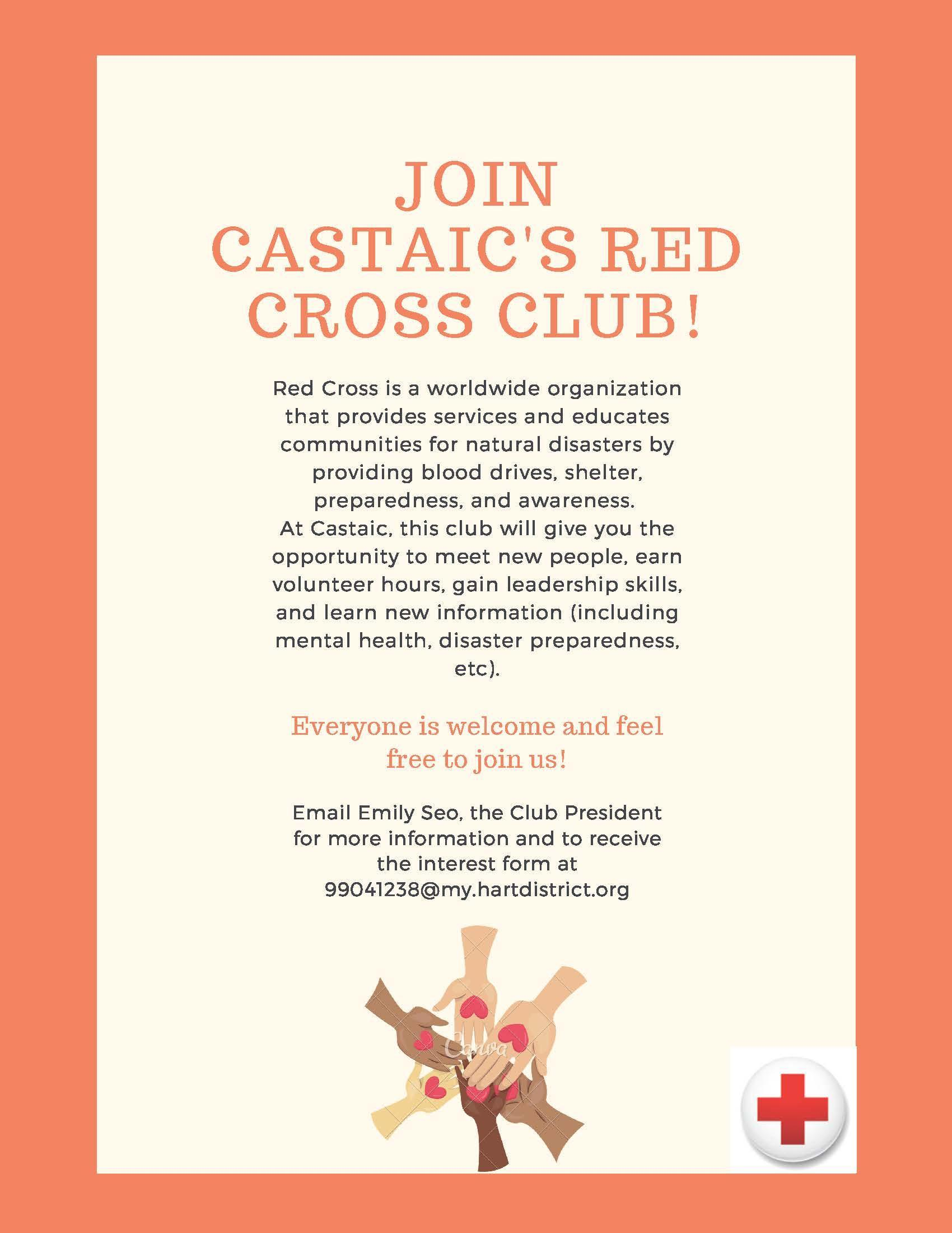 Join Castaic's Red Cross Club