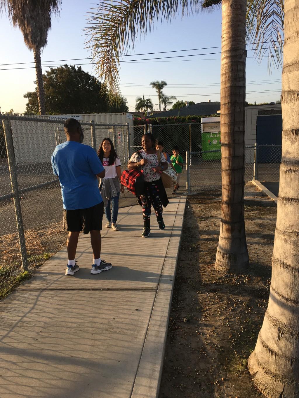Walk to School Day 10/4/17