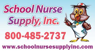 School Nurse Supply Logo