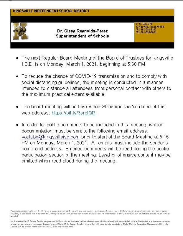 Copy of Board Meeting Announcement as an Image