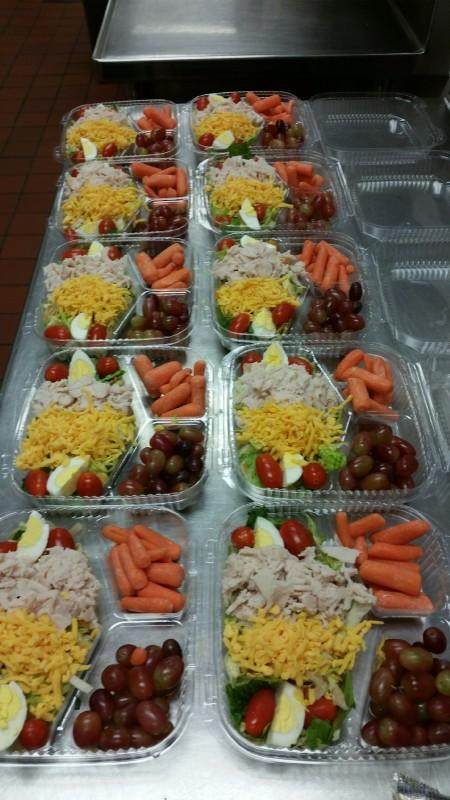 Box Salad - Wheat Middle School
