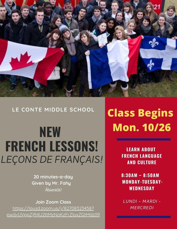 NEW French Classes!!!! Featured Photo