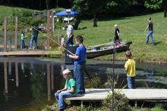 A fishing trip is the reward for meeting the summer reading challenge.