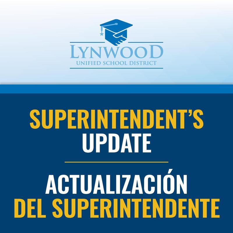 VIDEO: Superintendent Crosthwaite's Update: School Starts on Aug. 19! Featured Photo