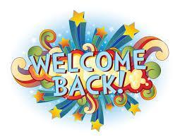 Welcome back icon