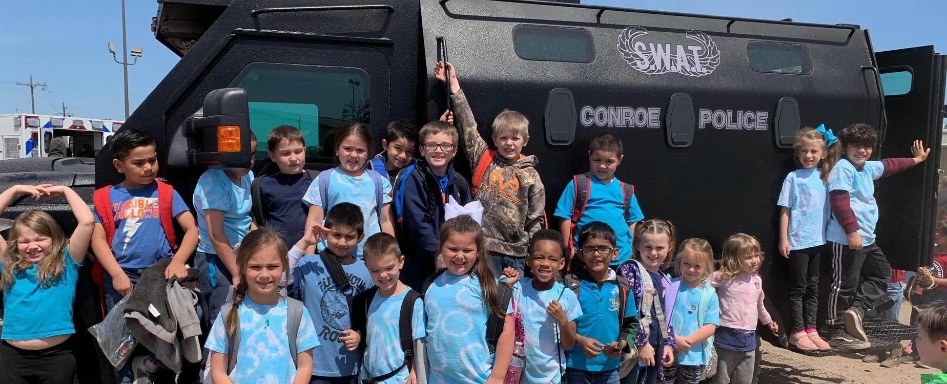 first grade field trip photo