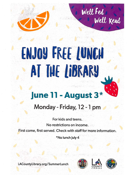 Public Library Meals