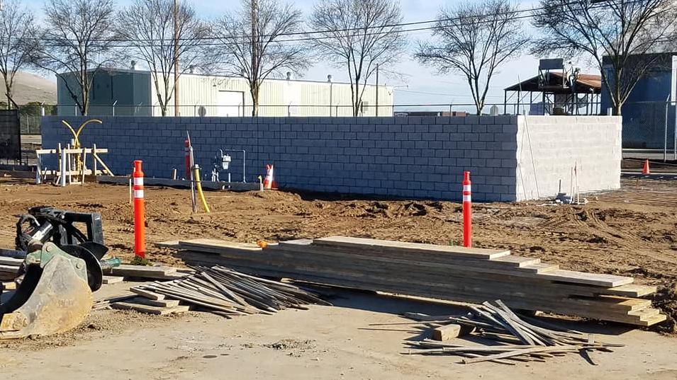 EUSD Transportation Yard Remodel- March 2018