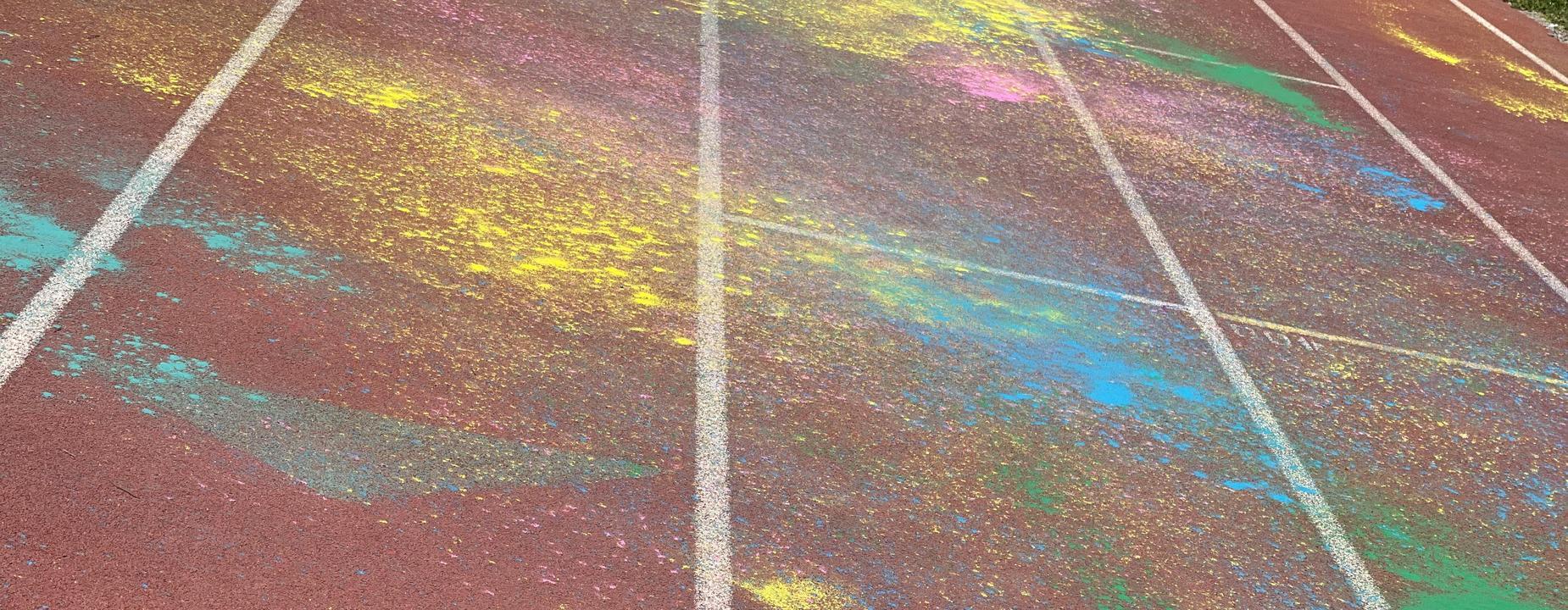 color run track