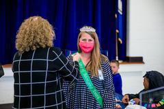 Congratulations Mrs. Pressley on the Sense of Belonging Award!