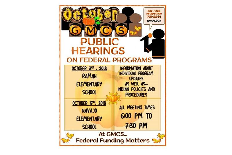 Public Hearings on Federal Programs