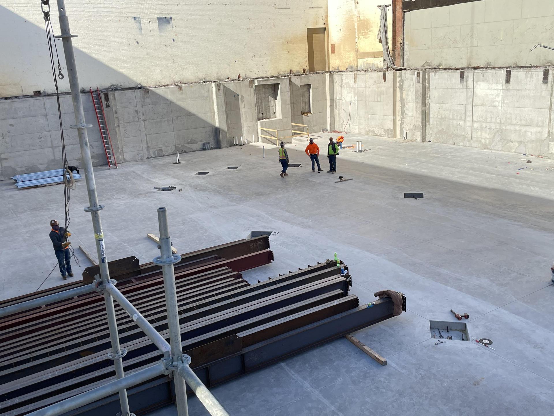 HPHS Infill Construction