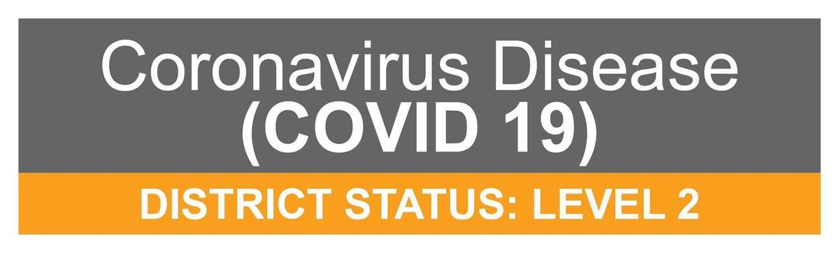 covid level 3 banner