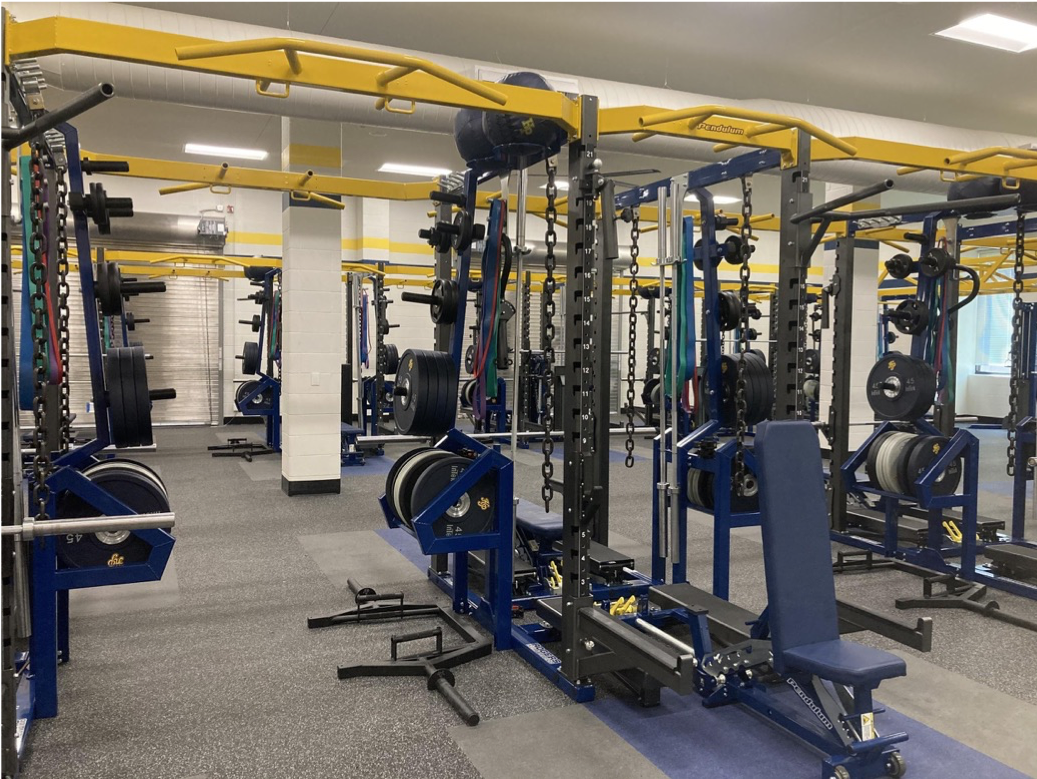 Multi-Use Building weight room