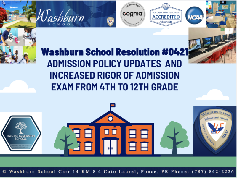 Admission Policy Update to Washburn's Entrance Exam Featured Photo