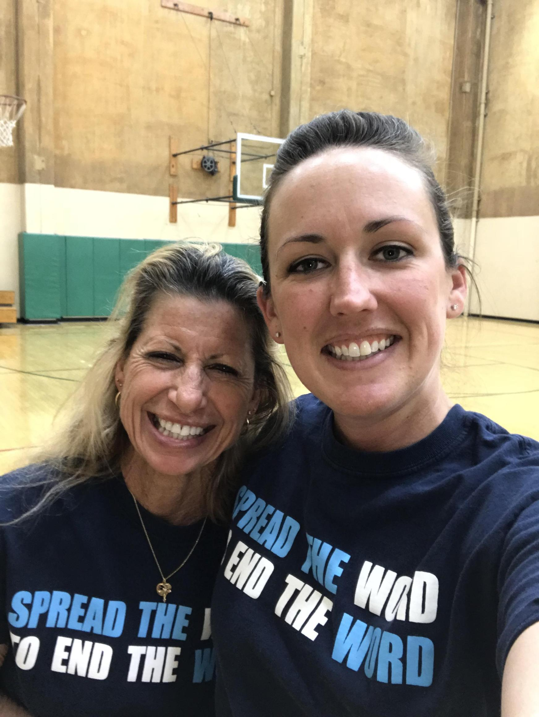 Adapted PE Department; Mrs. G and Ms. Julie