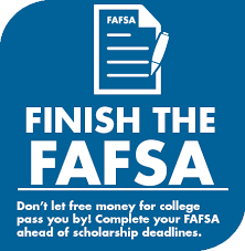 Finish the FAFSA