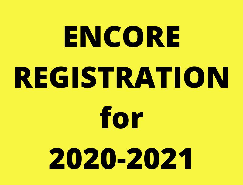 encore registration