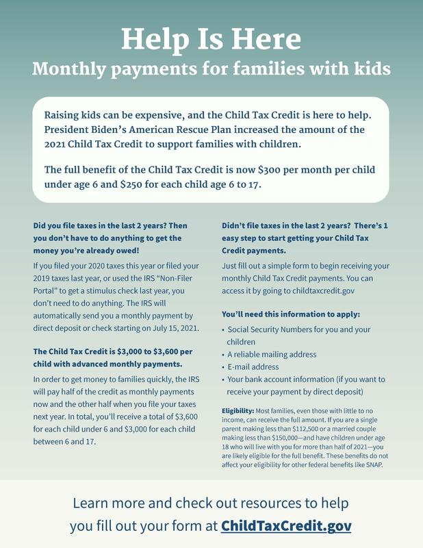 Child Care Tax Credit Featured Photo