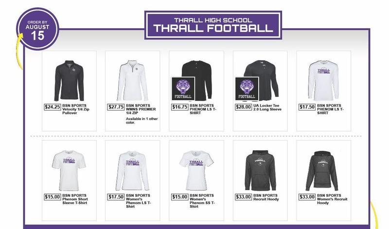 Tiger Gear Online Store Orders DUE Today! Thumbnail Image