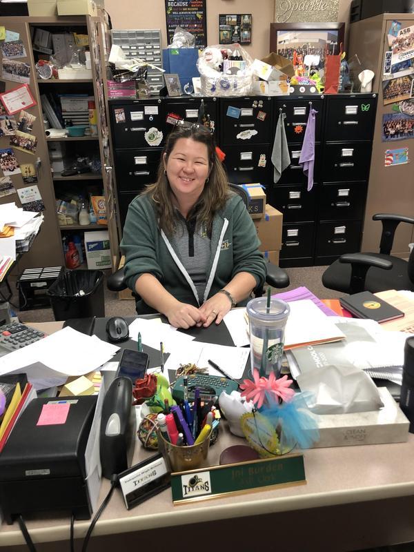 Faculty Focus Friday Joi Burden