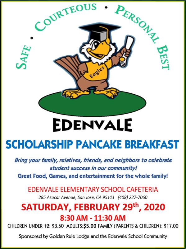 Edenvale Adopt a College Pancake Breakfast Thumbnail Image