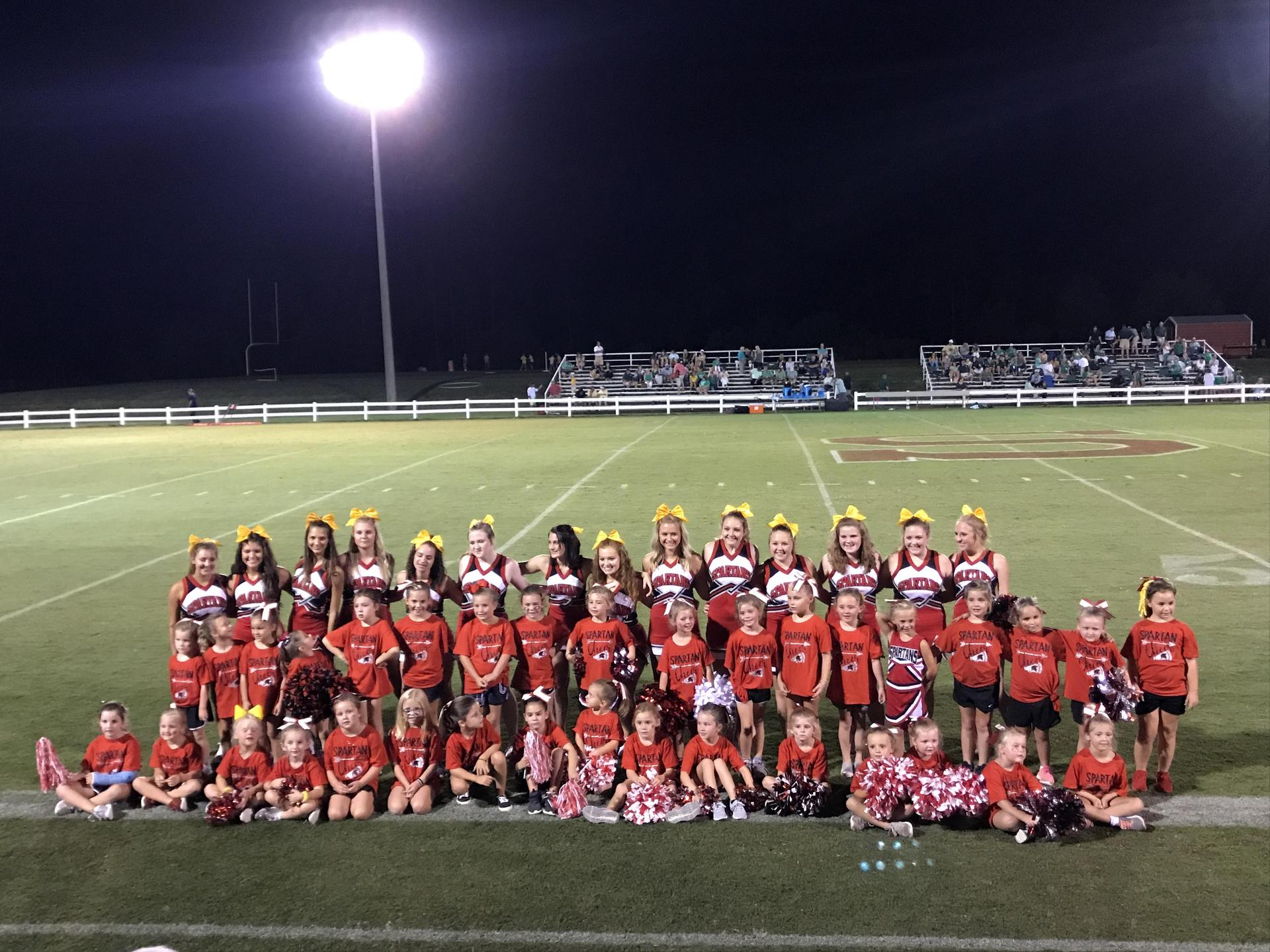 Kids Cheer Camp