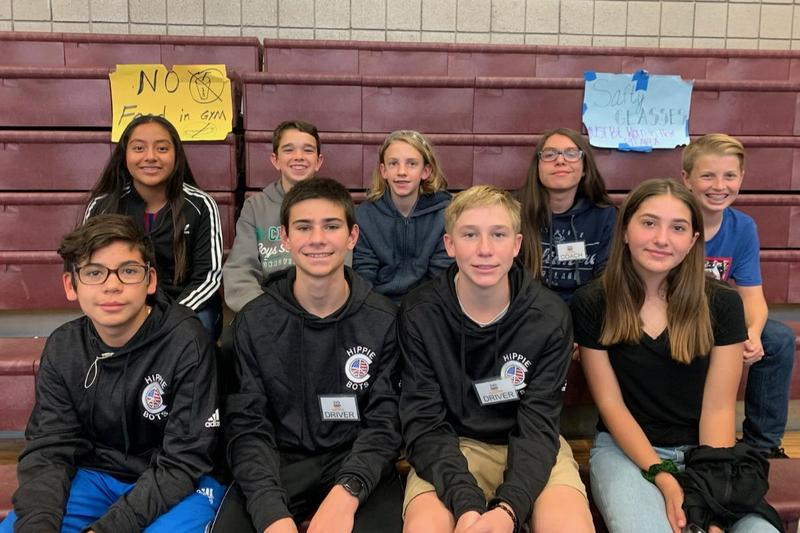 Clifton Middle School's Hippie Bots will travel to Spain on Feb. 27-28 as the sole U.S. representative to compete in the FIRST Tech Challenge Barcelona Championship.