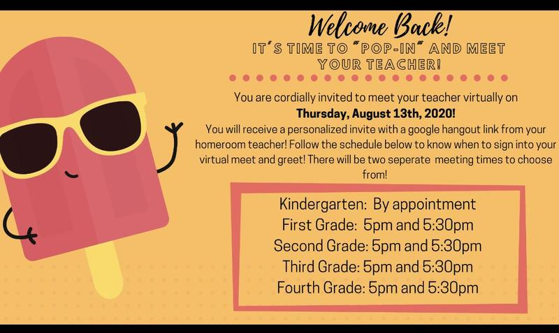 It's time to meet your teacher! Check out the info below for our virtual meets. #roadtoreopening #wattwatt Featured Photo