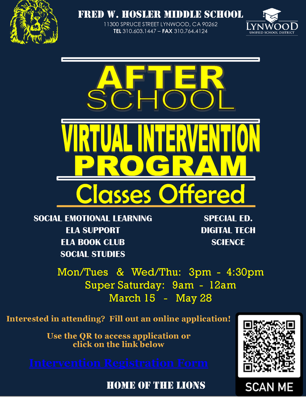 After School Intervention Featured Photo